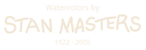 Stan Masters Watercolors Logo